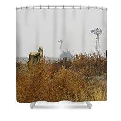 November In Ellis County Kansas Shower Curtain