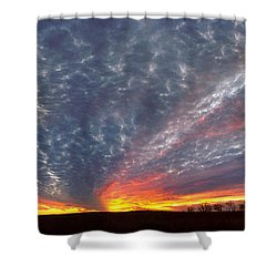 Shower Curtain featuring the photograph November Magic by Rod Seel