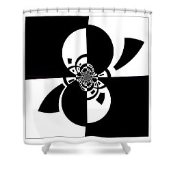Shower Curtain featuring the digital art Now And Forever by Wendy J St Christopher