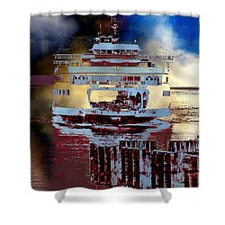 Now Arriving Shower Curtain
