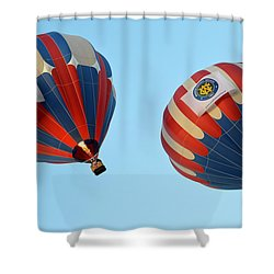 Shower Curtain featuring the photograph Now Swing Right by AJ Schibig