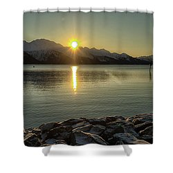 Shower Curtain featuring the photograph Now That Is A Pretty Picture by Michael Rogers