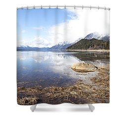 Nowhere Else I Would Rather Be Shower Curtain by Michele Cornelius