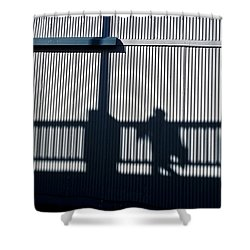 Shower Curtain featuring the photograph Nowhere Man by Tom Vaughan