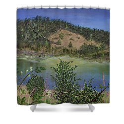 Noyo Serenity Shower Curtain