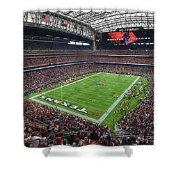 Nrg Stadium - Houston Texans  Shower Curtain