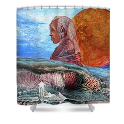 Nubian Dream  Shower Curtain
