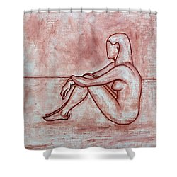 Nude 26 Shower Curtain by Patrick J Murphy