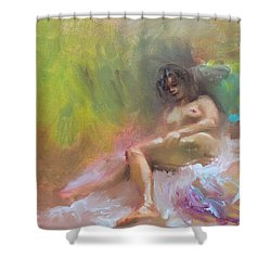 Nude Study Shower Curtain