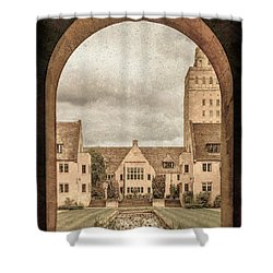 Oxford, England - Nuffield College Shower Curtain