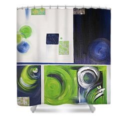 Number 12 Shower Curtain