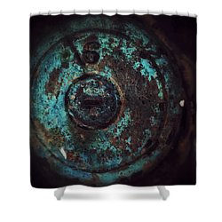 Shower Curtain featuring the photograph Number 6 by Olivier Calas