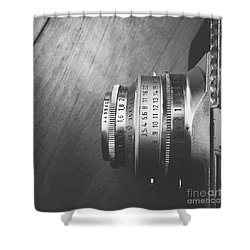 Shower Curtain featuring the photograph Numbers by Ivy Ho