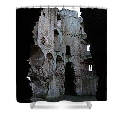 Nunney Castle Shower Curtain