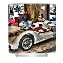Nurburgring Shower Curtain by Josh Williams