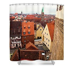 Nuremberg Cityscape Shower Curtain