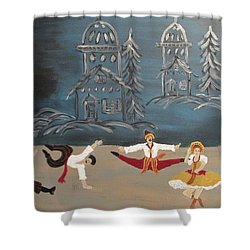 Nutcrackers Dance Of Russian Cossacks Shower Curtain