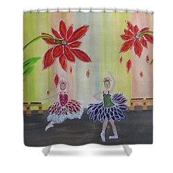 Nutcrackers Waltz Of The Flowers Shower Curtain