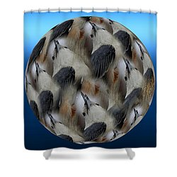 Nuthatch # 3 Shower Curtain