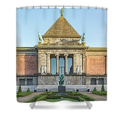 Shower Curtain featuring the photograph Ny Carlsberg Glyptotek In Copenhagen by Antony McAulay