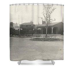 Shower Curtain featuring the photograph N.y. Worlds Fair 3 by Michael Krek