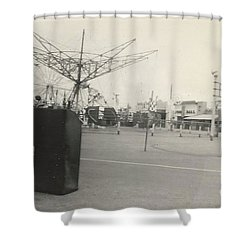 N.y. Worlds Fair Shower Curtain