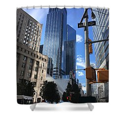 Nyc Day Shower Curtain