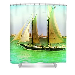 Nyc Sailing Shower Curtain