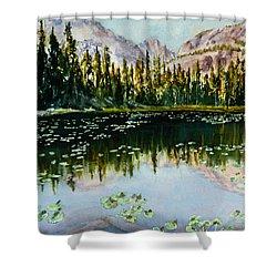 Nymph Lake Shower Curtain