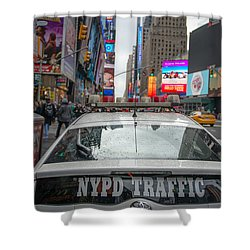 Nypd Shower Curtain