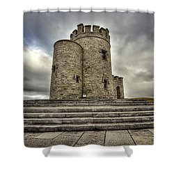 O Brien's Tower Shower Curtain