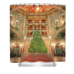 O Christmas Tree Shower Curtain