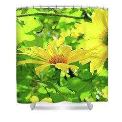 Oahu Sunshine Shower Curtain