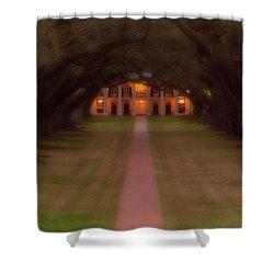 Oak Alley Plantation Shower Curtain by Jonas Wingfield