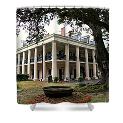 Oak Alley Plantation Shower Curtain by Perry Webster