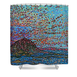 Oak Bay Nb June 2015 Shower Curtain