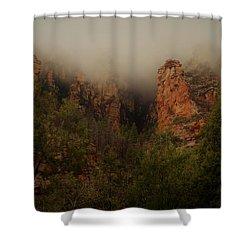 Oak Creek Canyon Arizona Shower Curtain