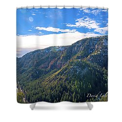 Oak Creek Vista Shower Curtain