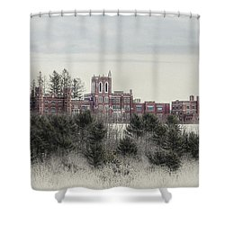 Oak Grove Coburn Shower Curtain