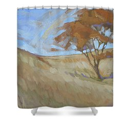 Oak Savanna, Autumn Shower Curtain
