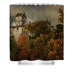 Oakhurst Water Tower Shower Curtain