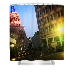 Oakland Lights Shower Curtain
