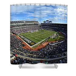 Oakland Raiders O.co Coliseum Shower Curtain