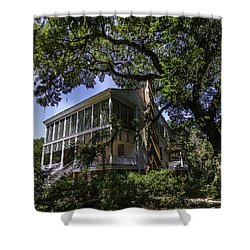 Oakley House Shower Curtain by Ken Frischkorn