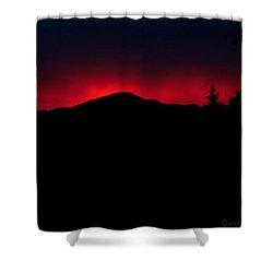 Oakrun Sunset 06 09 15 Shower Curtain