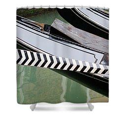Oar Gondola Venice Shower Curtain