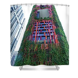 Oasia Hotel Downtown Singapore Shower Curtain