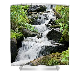 Oasis Cascade Shower Curtain