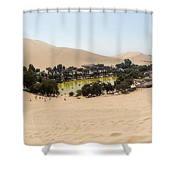 Oasis De Huacachina Shower Curtain