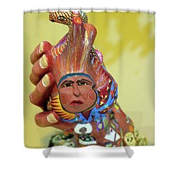 @oaxaca@mexico Shower Curtain